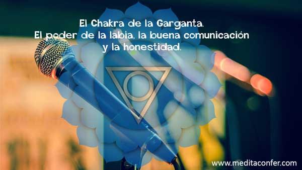 El Chakra de la Garganta. Donde residen el poder de la labia, la buena comunicación y la honestidad.