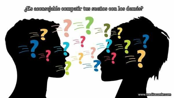 ¿Es aconsejable compatir tus sueños con los demás?