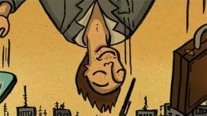 el colgado tarot conspiratorio
