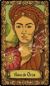 reina de oros tarot conspiratorio