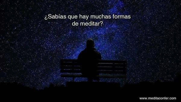 Las meditacián es fácil.