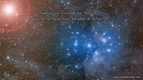 En un viaje astral rebasas la velocidad de la luz. Tu también te puedes desdoblar.
