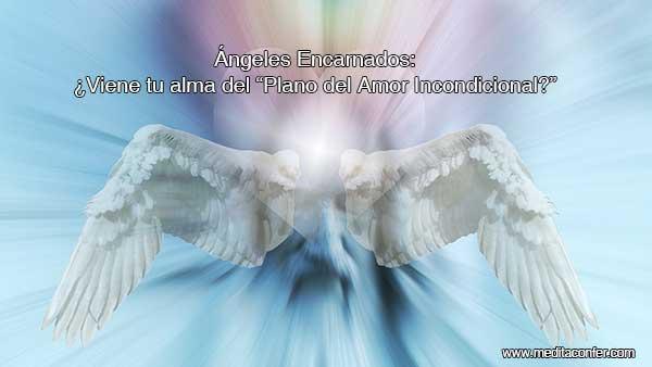 Los ángeles encarnados son almas del plano angelical visitando la Tierra como humanos.