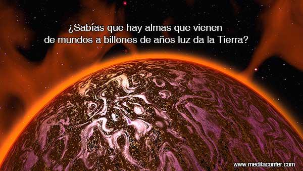 Las semillas estelares vienen de otros mundos.