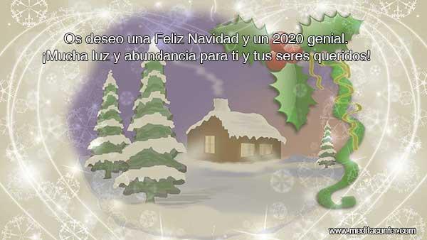 Feliz Navidad! Y si no la celebras, también te deseo mucha energía y abundancia.