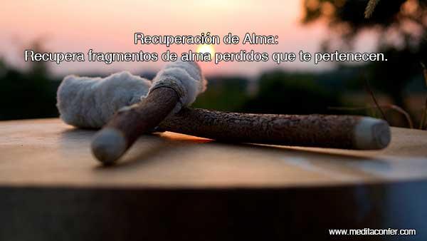 Recuperación de Alma: Una poderosa sanación chamánica que te ayudará a encontrar partes perdidas que son tuyas y te pertenecen.