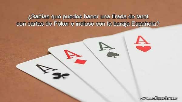 Tirada de Tarot con cartas de juego.  (Sabías que 2020)