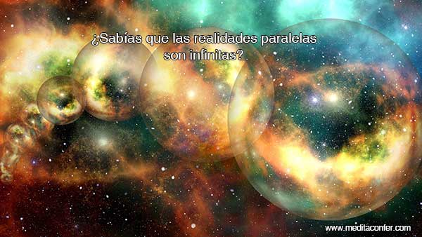 Las realidades paralelas son infinitas.