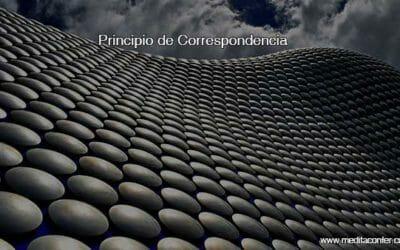 Principio de la Correspondencia: El origen de la repetición y los patrones.