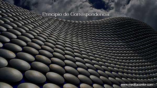 Principio de Correspondencia.