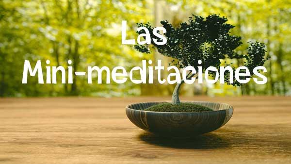 Las Mini Meditaciones.