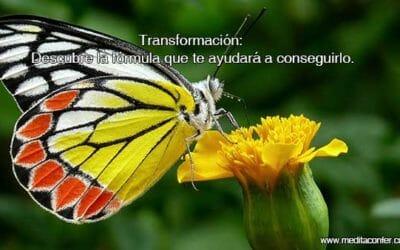 Transformación: Vamos a descubrir la fórmula que nos ayudará a conseguirlo.